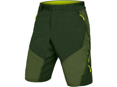 Endura Hummvee Short II with Liner olive green