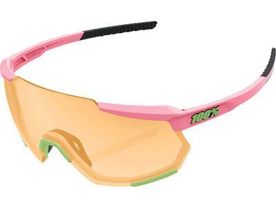 100% Racetrap - Smoke neon pink