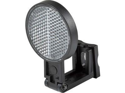 Cube RFR Frontstrahler für Brems-/Gabelbefestigung, white - Reflektoren