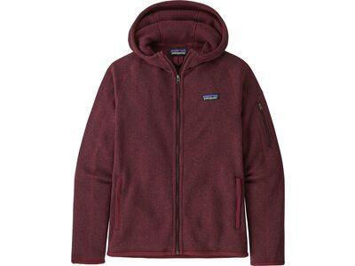 Patagonia Women's Better Sweater Hoody chicory red