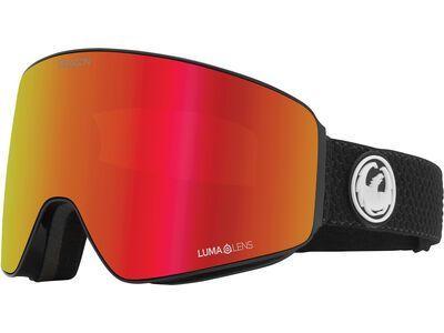 Dragon PXV inkl. WS, split/Lens: lumalens red ion - Skibrille