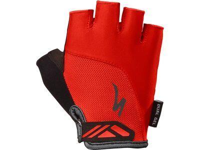 Specialized Women's Body Geometry Dual-Gel Short Finger red