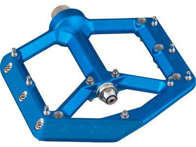 Spank Spike Reboot Flat Pedal, blue