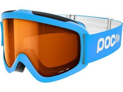 POC POCito Iris, fluorescent blue/Lens: sonar orange - Skibrille