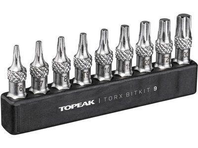 Topeak Torx BitKit 9 - Bitset Innensechsrund