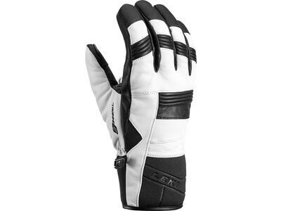 Leki Progressive 8 S, weiss-schwarz - Skihandschuhe