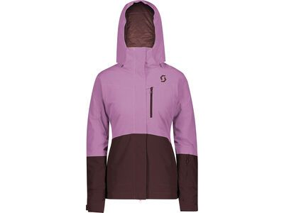 Scott Ultimate Dryo 10 Women's Jacket cassis pink/red fudge