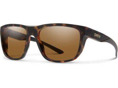 Smith Barra, mat tortoise/Lens: cp polarized brown - Sonnenbrille