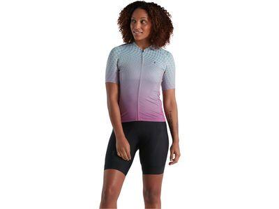 Specialized Women's SL Bicycledelics Jersey ice papaya/pro blue