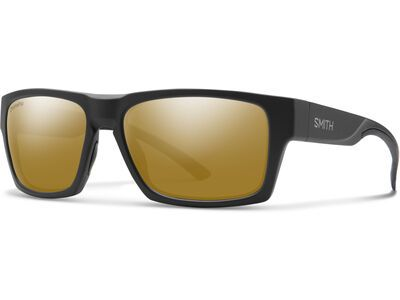 Smith Outlier 2 Chromapop Polarized Bronze Mirror matte black