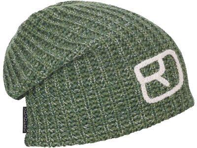 Ortovox Melange Beanie, green forest blend - Mütze
