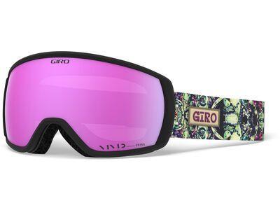 Giro Facet, kaleidoscope/Lens: vivid pink - Skibrille