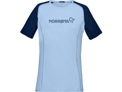 Norrona fjørå equaliser lightweight T-Shirt W's serenity/indigo night