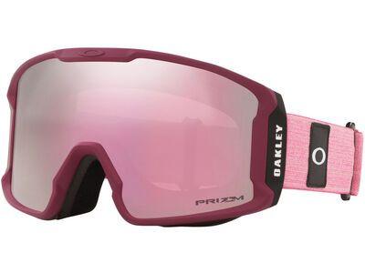 Oakley Line Miner XM Prizm, heathered grenache rubine/Lens: hi pink iridium - Skibrille