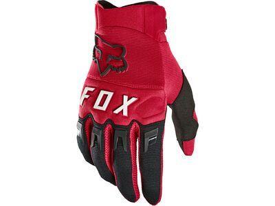 Fox Dirtpaw Glove flame red