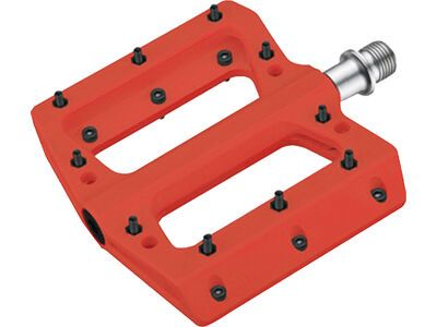 Cube RFR Pedale Flat HPP red