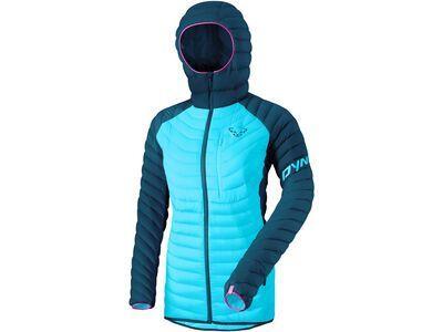 Dynafit Radical Down Women Hooded Jacket, petrol - Daunenjacke