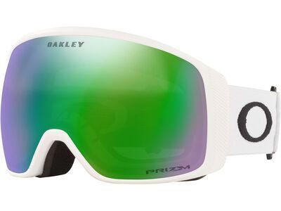 Oakley Flight Tracker XL Prizm, matte white/Lens: jade iridium - Skibrille