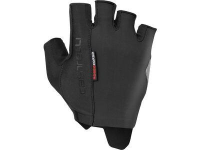 Castelli Rosso Corsa Espresso Glove black