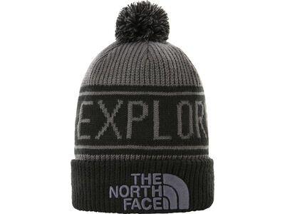The North Face Retro TNF Pom Beanie vanadis grey/tnf black