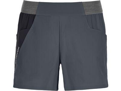 Ortovox Merino Shield Ultra Light Piz Selva Shorts W black steel