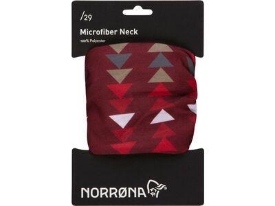 Norrona /29 microfiber Neck, rhubarb - Multifunktionstuch