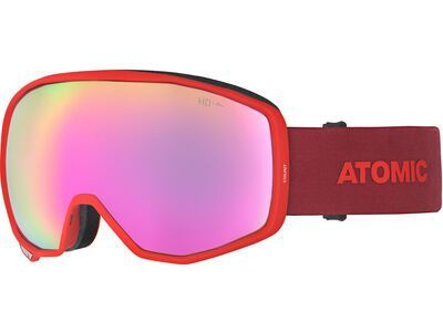 Atomic Count HD, red/Lens: pink copper hd - Skibrille