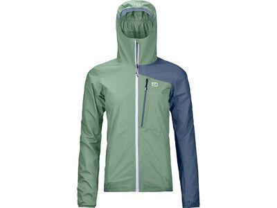 Ortovox 2.5L Civetta Jacket W, green isar - Jacke