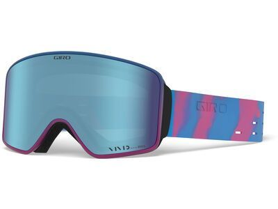 Giro Method inkl. WS, silicone vivid/Lens: vivid royal - Skibrille