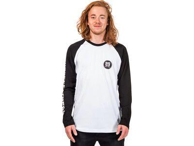 Horsefeathers Nestor L/S T-Shirt, white - Longsleeve