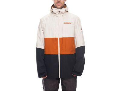 686 Men's Smarty 3-in-1 Form Jacket, bone wash - Snowboardjacke