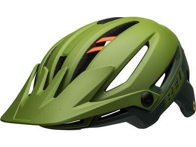 Bell Sixer MIPS, gloss green/infrared - Fahrradhelm