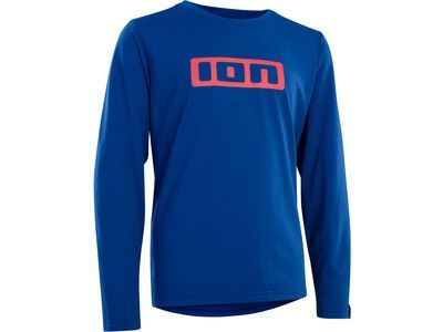 ION Tee Logo LS DR Youth, storm blue