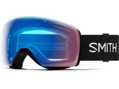 Smith Skyline XL, black/Lens: cp storm rose flash - Skibrille