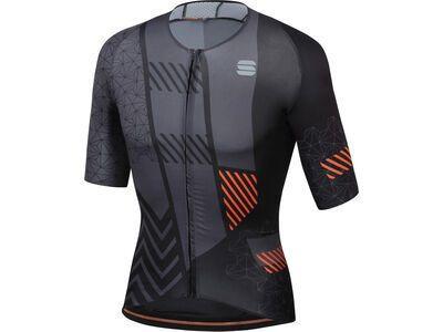 Sportful Bomber Jersey, black/anthracite - Radtrikot