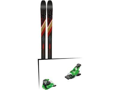 Set: K2 SKI Wayback 80 2019 + Tyrolia Attack² 16 GW green