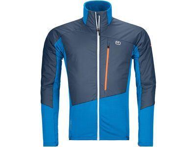 Ortovox Westalpen Swisswool Hybrid Jacket M safety blue