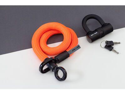 Tex-Lock Tex-Lock Eyelet S 80 cm inkl. U-Lock orange