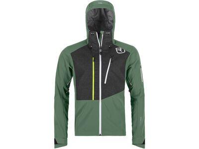 Ortovox Merino Naturtec Plus Pordoi Jacket M, green forest - Softshelljacke