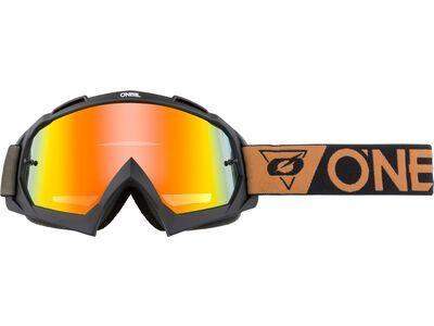 ONeal B-10 Goggle Speedmetal – radium red black/brown