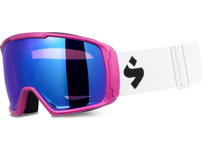 Sweet Protection Clockwork WC RIG Reflect BLI + WS, matte fuchsia/Lens: RIG sapphire - Skibrille