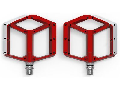 Cube Acid Pedale Flat A1-CB, red