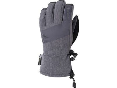 686 Men's Gore-Tex Linear Glove, grey melange - Snowboardhandschuhe
