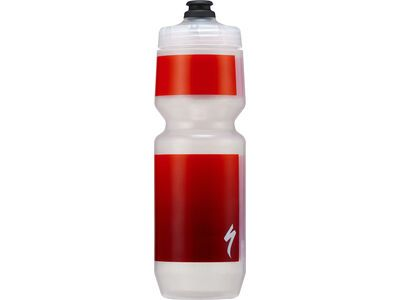 Specialized Purist MoFlo 26 oz, transl./red gravity - Trinkflasche