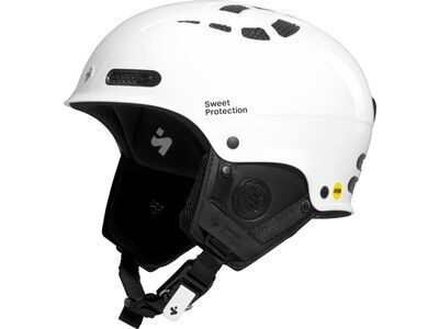 Sweet Protection Igniter II MIPS, gloss white - Skihelm