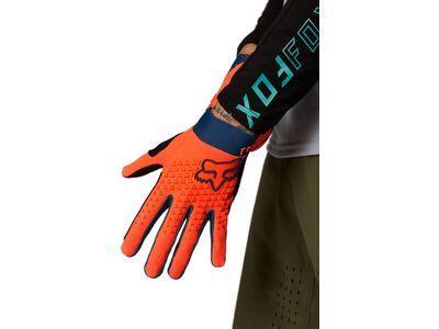 Fox Defend Glove atomic punch
