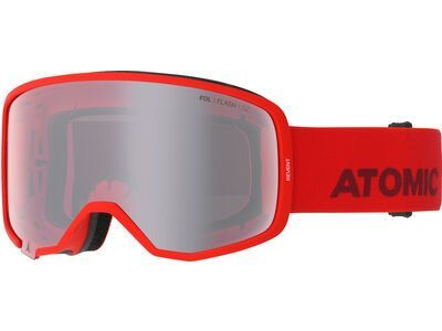 Atomic Revent, red/Lens: silver flash - Skibrille