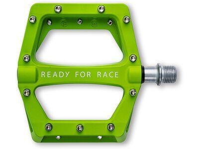 Cube RFR Pedale Flat Race, green