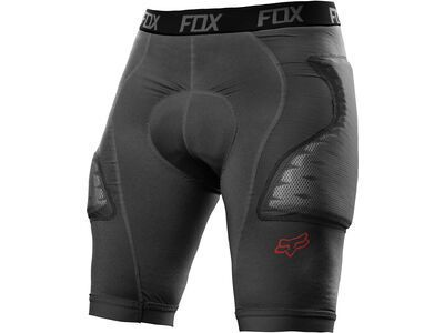 Fox Titan Race Short, charcoal - Protektorhose