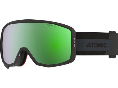 Atomic Count JR Spherical - Green Flash black
